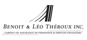 Logo Benoit & Léo Théroux Inc. - Cabinet en assurance de personnes & services financiers